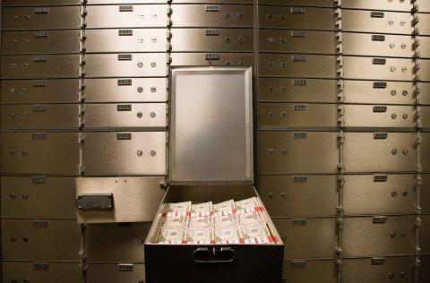 Среди тайных сейфов банка. Сценарий аудиокниги